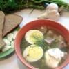 Рецепт: Суп щавельный с картофелем
