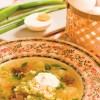 Рецепты: Суп из пшена с чесноком