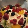 Рецепт: Торт «Фруктовая горка»